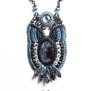Purrfect Night Necklace with Pietersite - Relux Collection