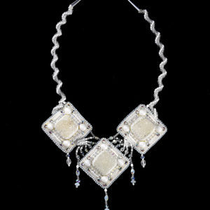 "Necklace ""Snow Maiden"""